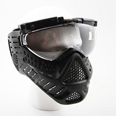 Airsoft Anti Fog Mask with Eye Protection