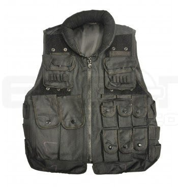Black Airsoft Tactical Vest