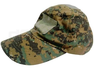 Digital Woodland Camo Cap