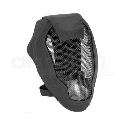 Fencing Metal Mesh Airsoft Mask Black