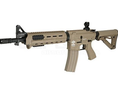 G&G Combat Machine CM16 MOD0 carbine – tan