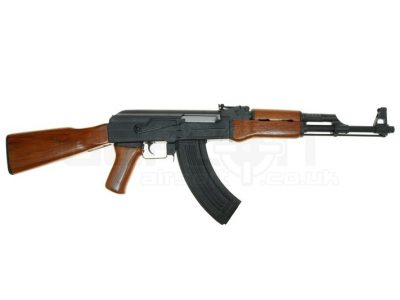 CM046 Full Metal/Real Wood Blow Back AK-47