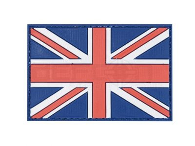 3D morale patch – PVC/Velcro Backed UK Flag