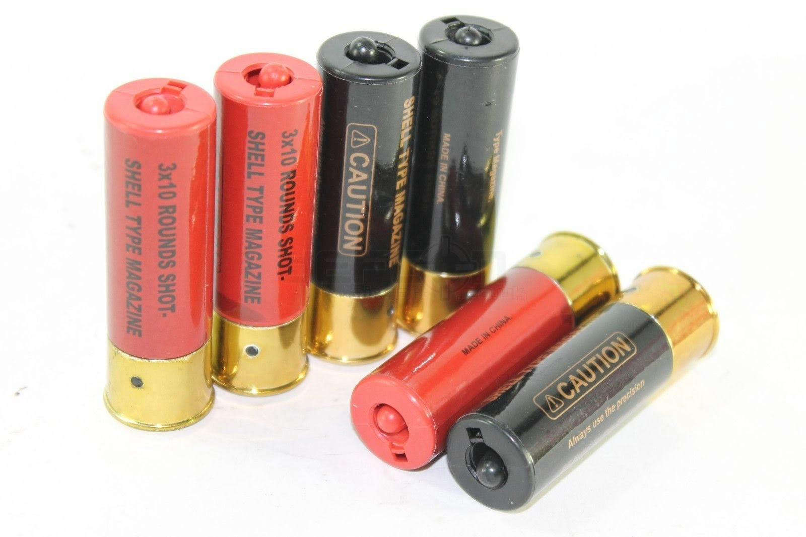 Double Eagle Shotgun Shells (pack of 6) (TM Compatible) » DEFCON AIRSOFT
