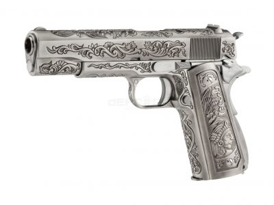WE 1911 Engraved 'Mehico Druglord'