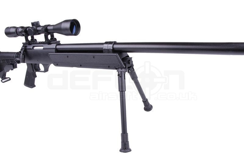 Well Mb06b Sniper Rifle Replica With Bipod And Scope Defcon Airsoft