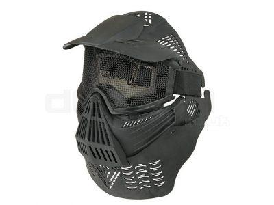 Airsoft Pro Mesh Mask V2 Full Face & Neck