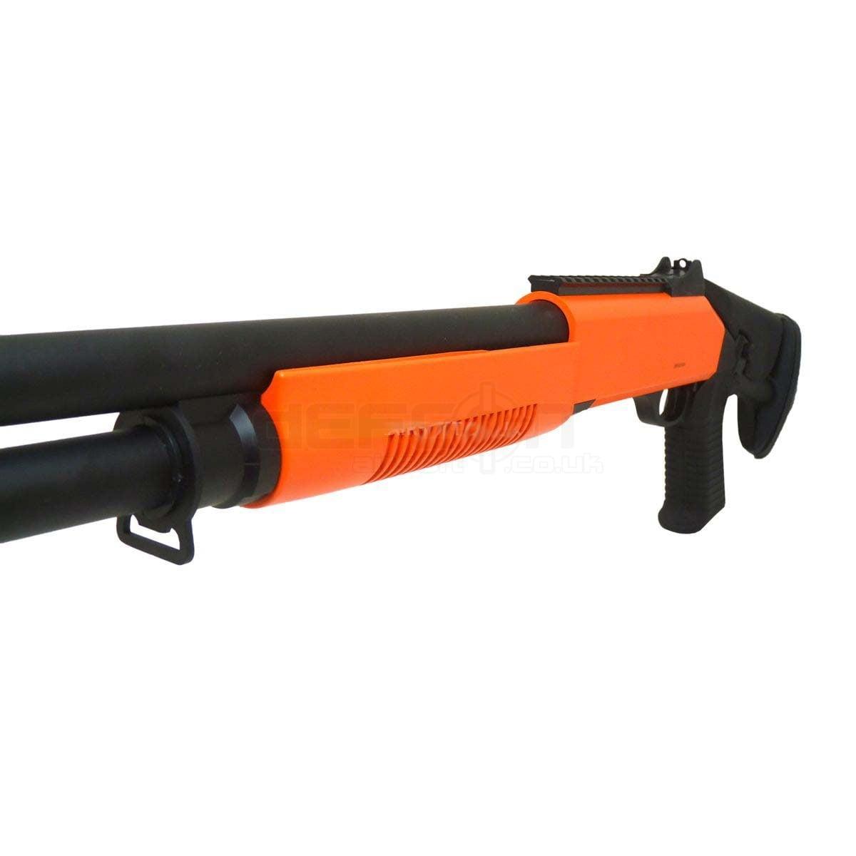 Tri-Shot M56DL Pump Action Shotgun BB Gun » DEFCON AIRSOFT