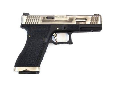 we-e-force-g17-pistol-bk-silver-slide-and-silver-barrel-eu17