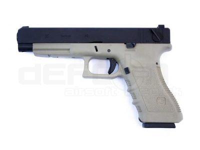WE G35 Gen 3 Full Auto Tan Pistol (EU35)