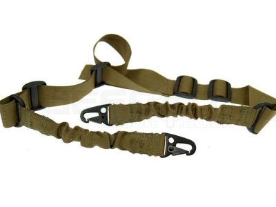 2-Point Tactical Sling - Bungee, coyote brown