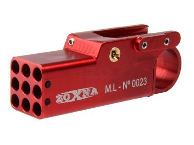 Zoxna Mini Grenade Launcher RED
