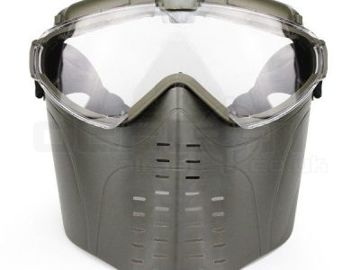 Big Foot Airsoft Mask with electric Ventilation Fan (OD)