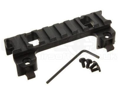 MP5 and G3 Airsoft Rifle Low Profile Scope mount