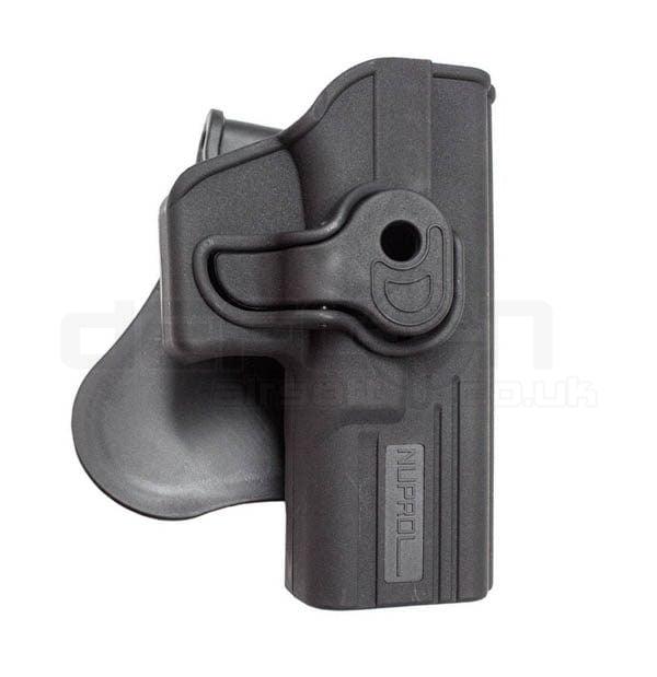 Nuprol EU G-Series Pistol Retention Paddle Holster - Black