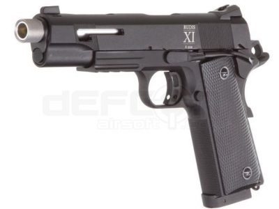 Secutor Rudis XI 1911 Custom Co2 Powered (Silver Barrel – Black Slide)