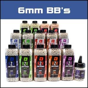 6mm BB's (pellets)