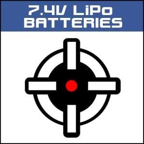 7.4V LiPo Batteries