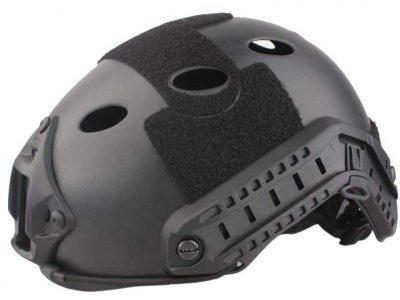 big-foot-fast-helmet-pj-type-round-hole-black 1