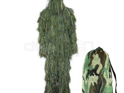 Airsoft Sniper Ghillie Suit Camo Woodland