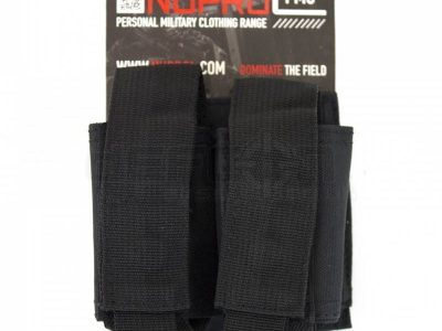 NP PMC Double 40mm Pouch - Black