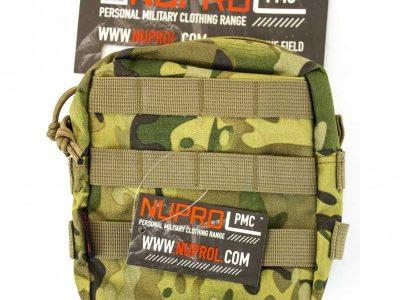 Nuprol PMC Medium Zipped Utility Pouch - NP Camo