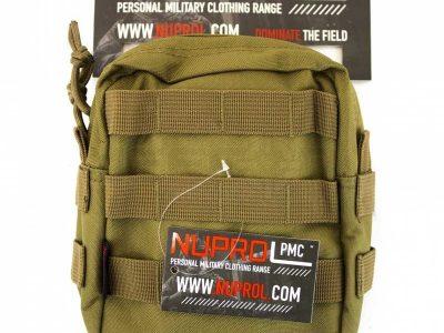 Nuprol PMC Medium Zipped Utility Pouch - Tan