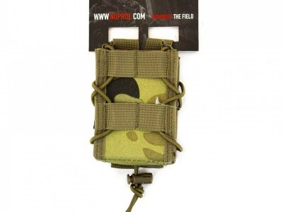 Nuprol PMC Rifle Open Top Pouch - NP Camo