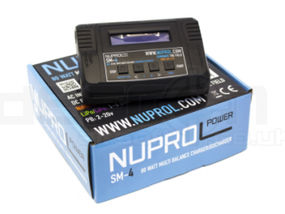 Nuprol SM4 Smart Charger 80W