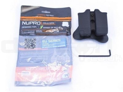 Nuprol EU Series Hard Double Magazine Pouch