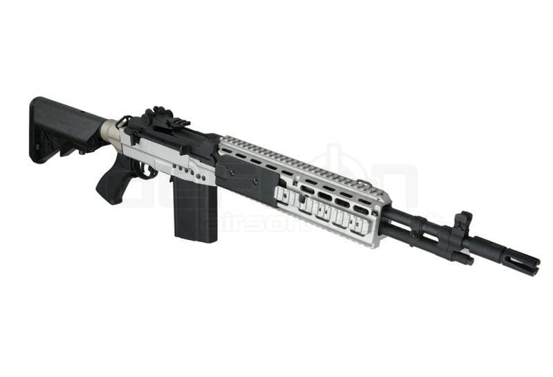 Cyma CM032 EBR M14 Tactical DMR Rifle (Silver) » DEFCON ... M14 Ebr Silver
