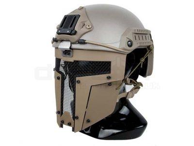 TMC Spartan Face Mask for Fast Helmets (Dark Earth)
