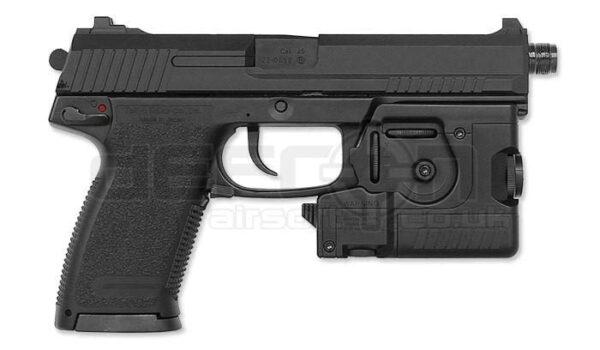 Tokyo Marui MK23 Socom Pistol, Suppressor & LAM unit (Gen  2)