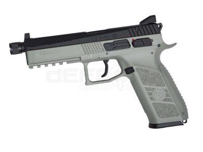 ASG CZ P-09 CO2 Gas Blow Back Pistol Urban Grey