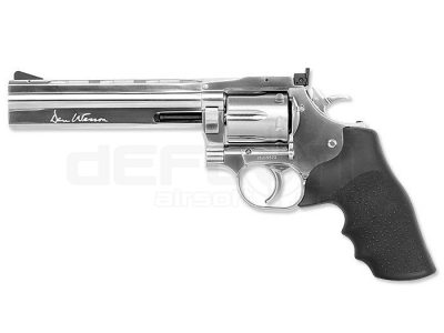 Dan Wesson 715 – 6 Revolver, Silver, Low Power