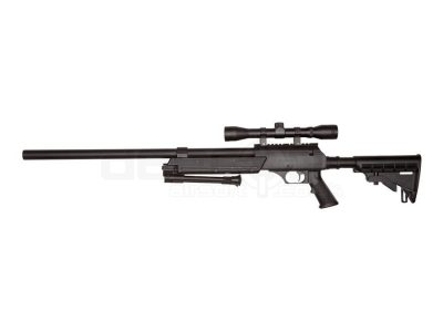 ASG Airsoft Urban Sniper Rifle With Scope & Bipod