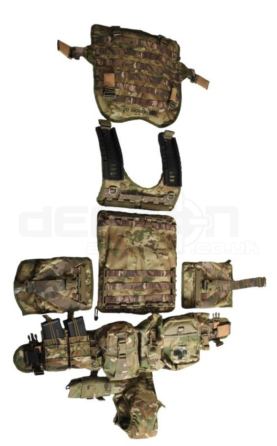 Crib Gogh Rogue Scalable Tactical Armour Vest System