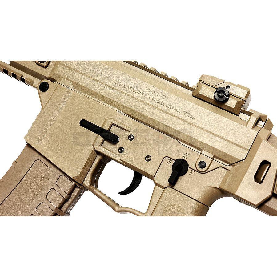GHK G5 GBBR Carbine Airsoft Rifle