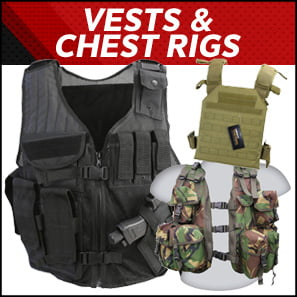 Airsoft Vests & Chest Rigs