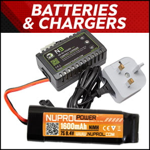 Airsoft Batteries & Chargers