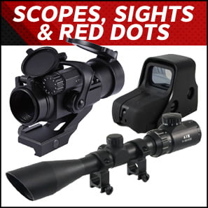 Scopes, Sights & Red Dots