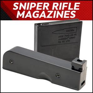 Sniper Rifle Magazines